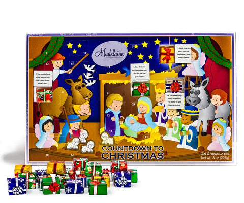 Countdown to Christmas Advent Calendar - Christmas Pageant