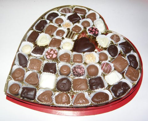 Chocolate Assortment - Valentine Heart Box