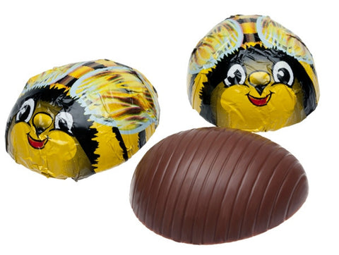 Milk Chocolate Foiled Bumble Bees