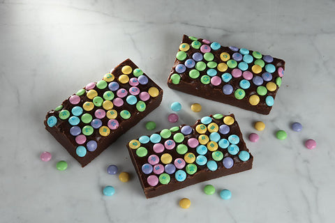 Chocolate M&M Pastel