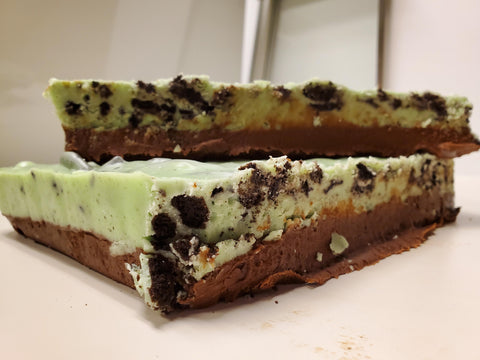 Chocolate Mint Oreo Fudge