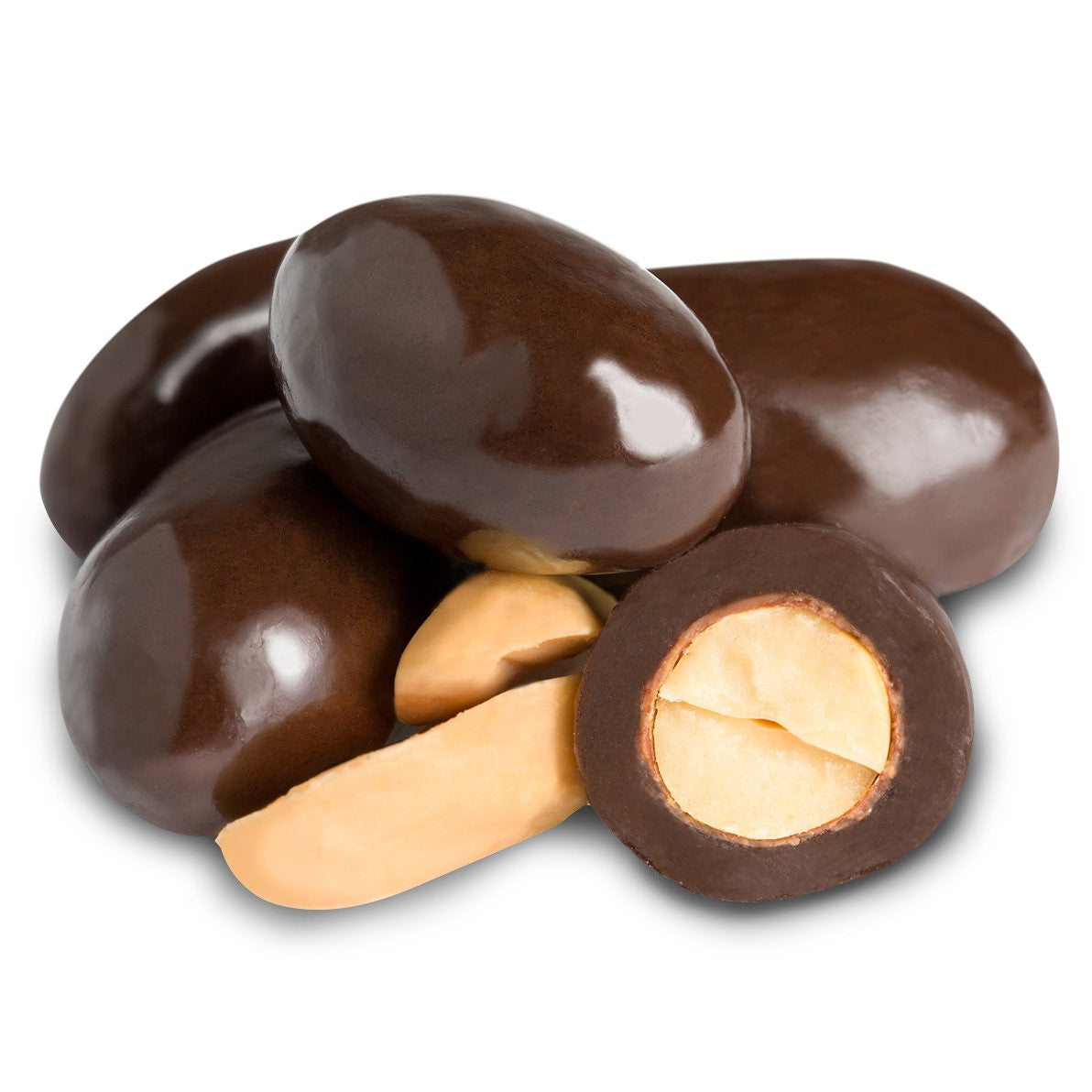 Milk Chocolate Double Dipped Peanuts Fun Factory Sweet