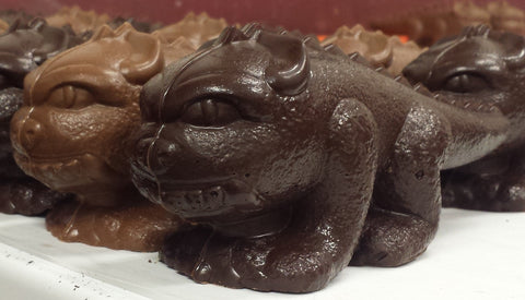 Solid Chocolate Hodag