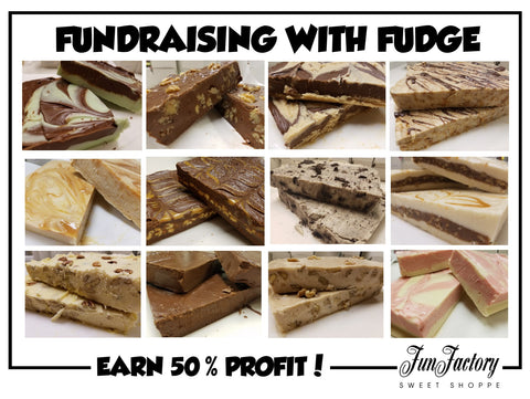 Fundraising With Fudge
