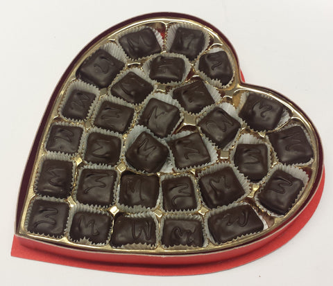 Mint Meltaways - Valentine Heart Box