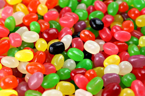 Jelly Beans With Pectin, Fruit Flavored