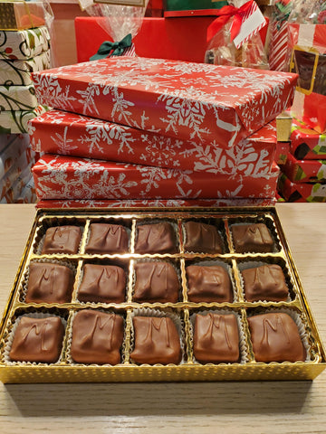 Wrapped Gift Box - Chocolate Meltaways