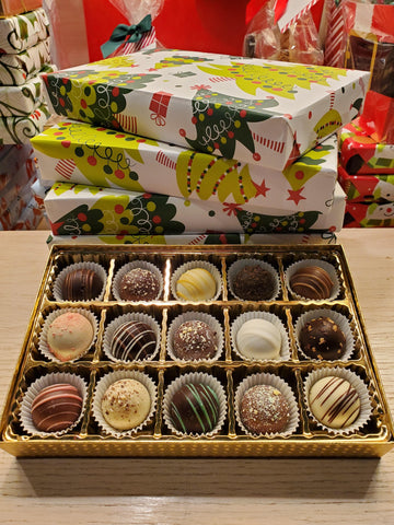 Wrapped Gift Box - Assorted Truffles