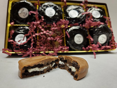 Lump 'O Coal (Chocolate Covered Oreo) - Gift Box