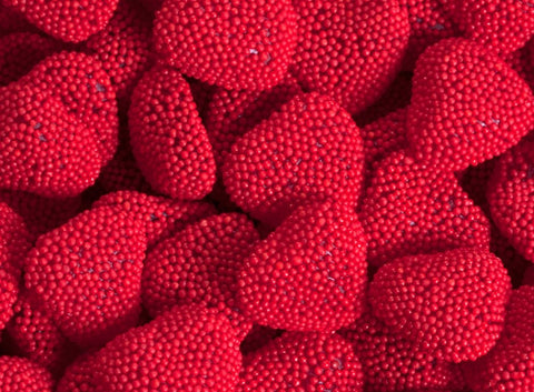 Red Raspberry Hearts