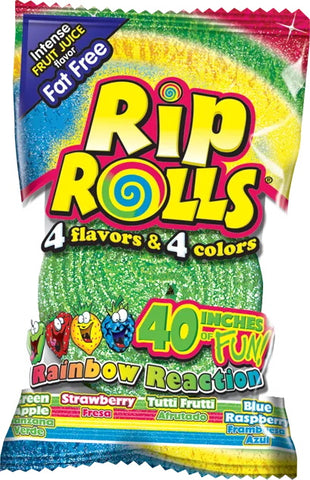 Rip Rolls Rainbow Reaction
