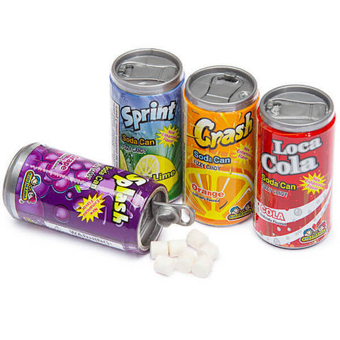 Soda Can Fizzy Candy