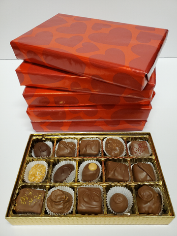 Wrapped Gift Box - Assorted Chocolates