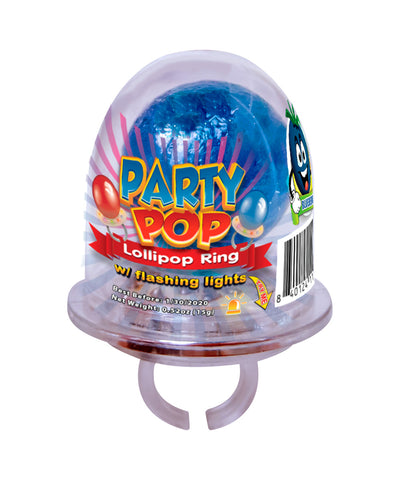 Party Pop Lollipop Ring w/ Flashing Lights