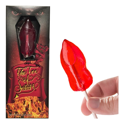 Toe of Satan Hot Lollipop