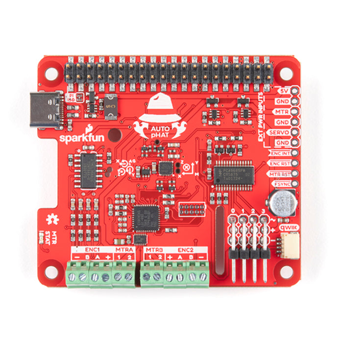 SparkFun Auto pHAT for Raspberry Pi
