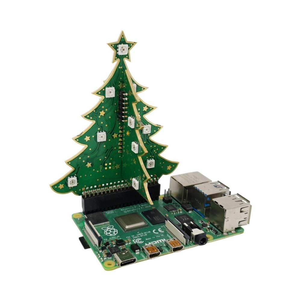 3D RGB Xmas Tree for Raspberry Pi