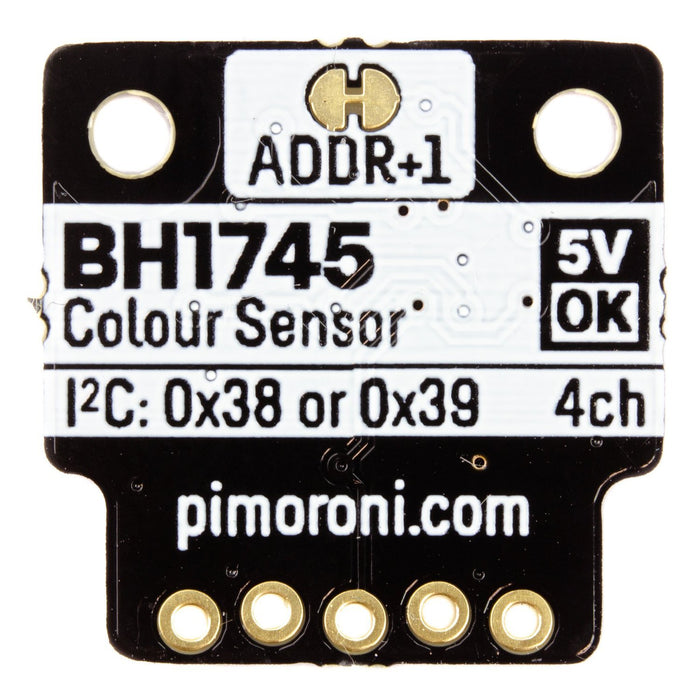 BH1745 Luminance and Colour Sensor Breakout