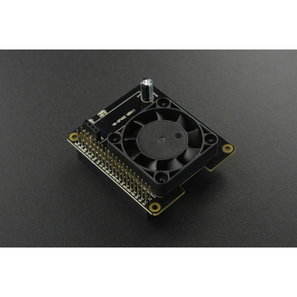 Smart Cooling Hat For Raspberry Pi 4B
