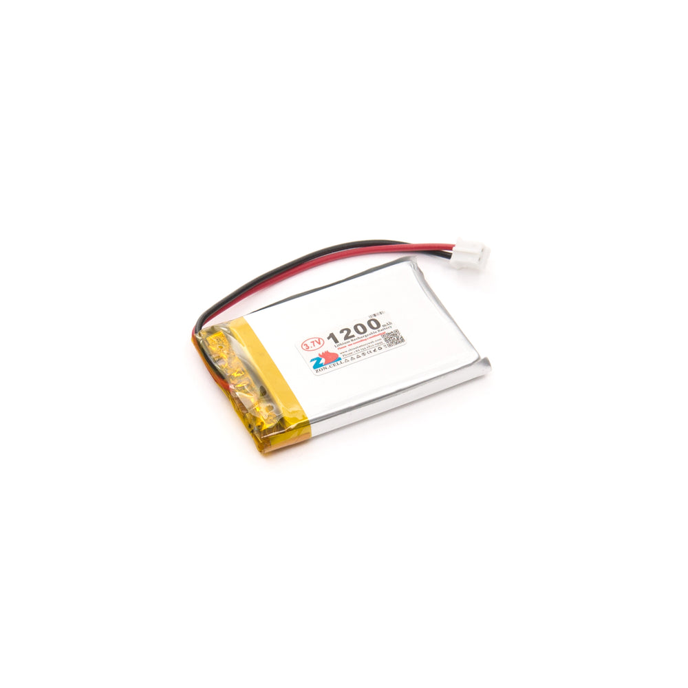Lithium Ion Polymer Battery - 3.7v 1200mAh