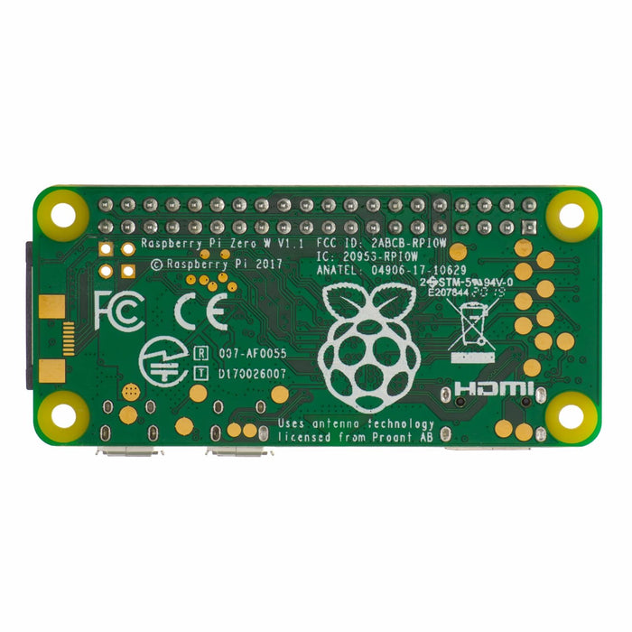 Raspberry Pi Zero WH - with soldered headers