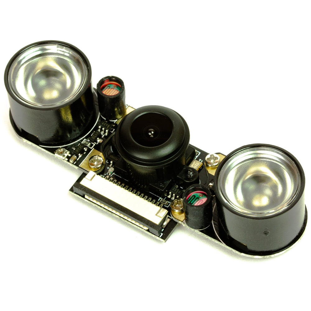 Night vision camera module for Raspberry Pi - 160° (Fisheye)