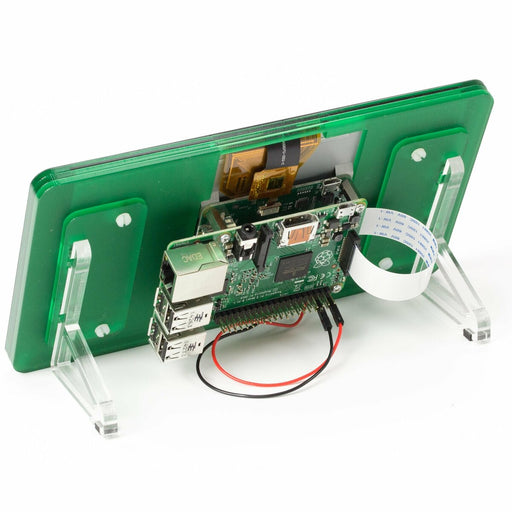 "Raspberry Pi 7"" Touchscreen Display Frame - jade"