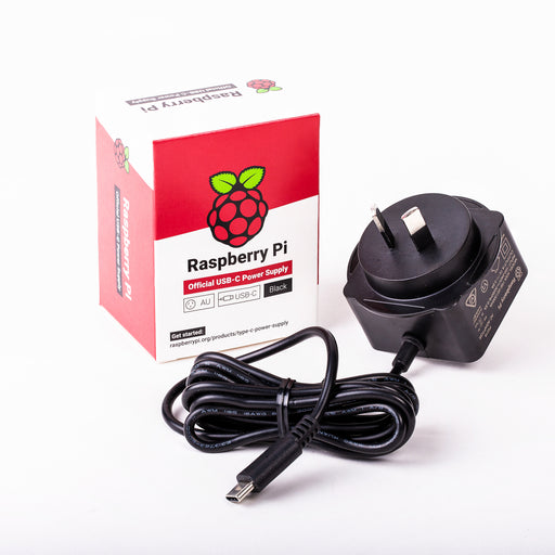 Raspberry Pi Power Supply USB-C 5V 15W (Black)