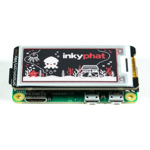 Inky pHAT (ePaper/eInk/EPD) Red/Black/White