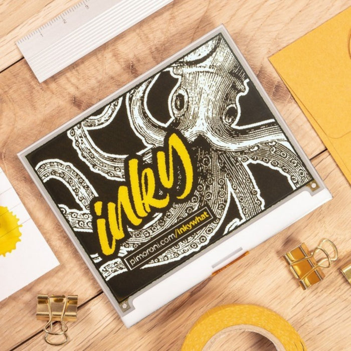 Inky wHAT (ePaper/eInk/EPD) Yellow/Black/White