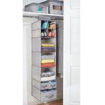 InterDesign Hanging Wardrobe Organiser - b-organized
