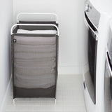Umbra Cinch Laundry Hamper Grey - Unique Design For Every Day Use - b-organized