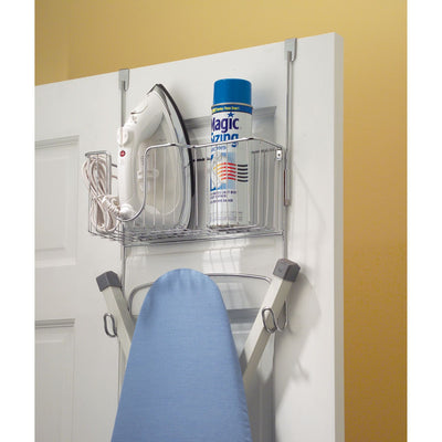 Interdesign Over The Door Ironing Board Holder - Great For Utilize Extra Space In Your Laundry Room - b-organized
