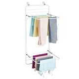 Interdesign Over The Door Clothes Airer – Perfect for small spaces - b-organized
