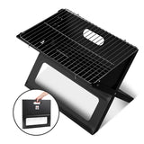 Grillz Notebook Portable Charcoal BBQ Grill - b-organized