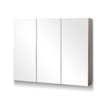Cefito Bathroom Vanity Mirror with Storage Cabinet - Natural - b-organized