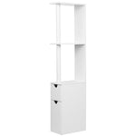 Artiss Freestanding Bathroom Storage Cabinet - White - b-organized