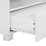 Artiss TV Stand Entertainment Unit with Drawers - White - b-organized