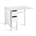 Artiss Gateleg Dining Table - b-organized