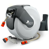 Green Fingers 20m Retractable Water Hose Reel - b-organized