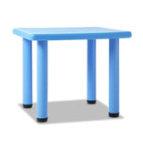 Keezi Kids Table Study Desk Children Furniture Plastic Blue - b-organized