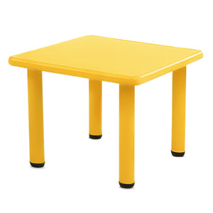 Keezi Kids Table and Chair Set - Yellow