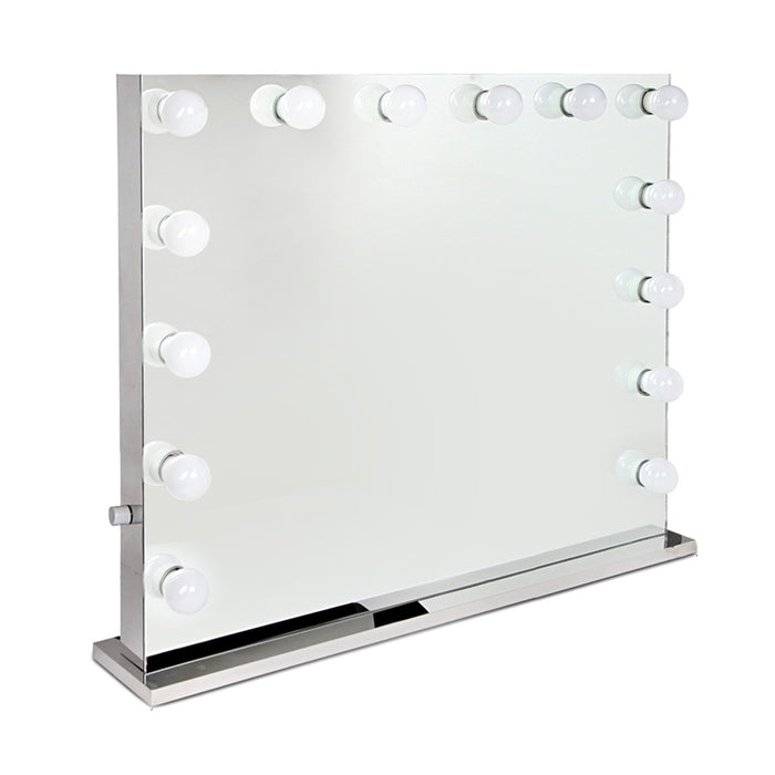Embellir Holly Wood Make Up Mirror with LED Light Bulbs - b-organized