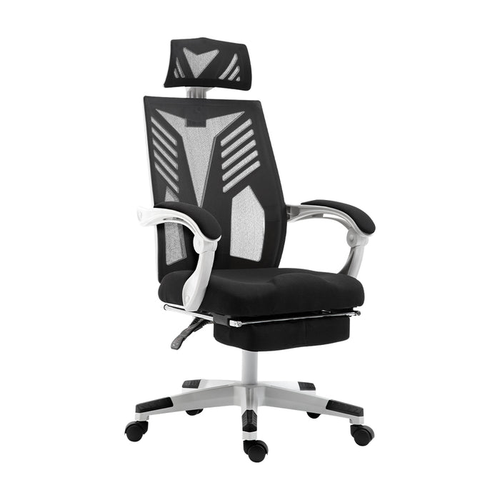 Artiss Gaming Office Chair Computer Desk Chair Home Work Recliner White