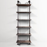 Artiss 6 Level DIY Wooden Bookshelf - b-organized