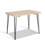 Artiss 6 Seater Wooden Dining Table - b-organized