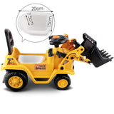 Keezi Kids Ride On Bulldozer - Yellow - b-organized