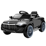 Rigo Maserati Kids Ride On Car - Black - b-organized
