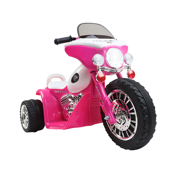 Rigo Kids Ride On Motorbike Motorcycle Toys Pink - b-organized