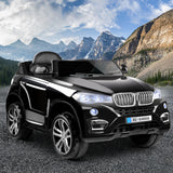 Kids Ride On Car BMW X5 Inspired Electric 12V Black - b-organized